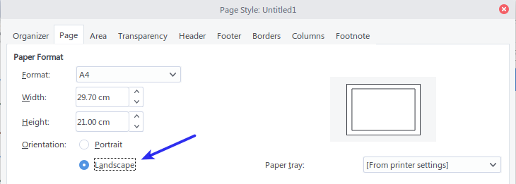 Page Style - Page