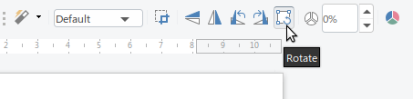 Rotate Option in Image Toolbar