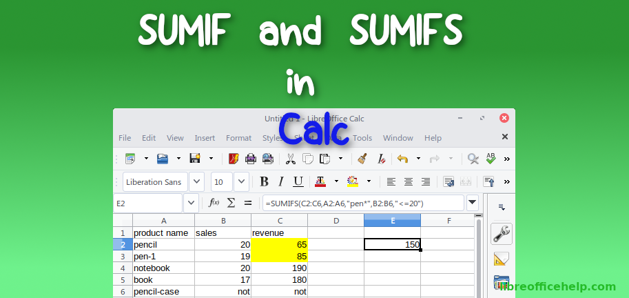 Calc-Basics Archives - libreofficehelp com