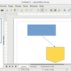 How to Draw Flowchart in LibreOffice Draw