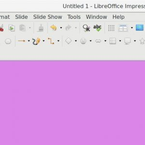 Change Slide Background Color in LibreOffice Impress